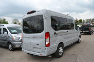 Avalanche Gray 2021 Ford Transit AWD