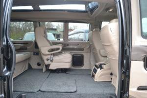 2020 Explorer Van Interior