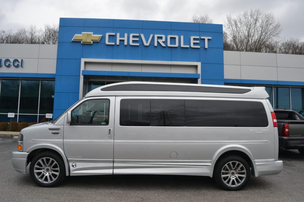 2020 Chevy Express 4x4 9 Passenger Explorer Limited X Se Vc Mike Castrucci Conversion Van Land