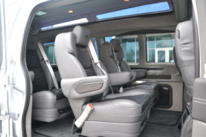 2020 Explorer Vna redesigned Captain Chairs