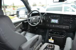 Explorer Van 2020 Interior