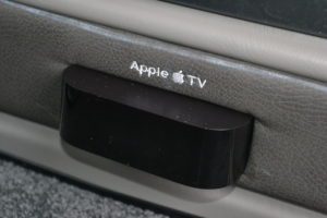 Apple TV provides endless content streaming from Disney+, Netflix, Amazon, YouTube, iTunes and other streaming content providers 2020 Explorer Van Options
