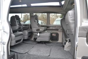 2020 Explorer Vna Interior Quick Release Seating