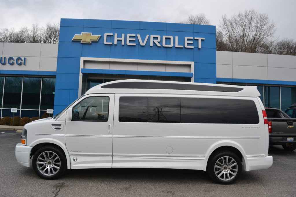 2020 Chevy Express 11 Passenger Explorer Limited X Se Vc Mike Castrucci Conversion Van Land