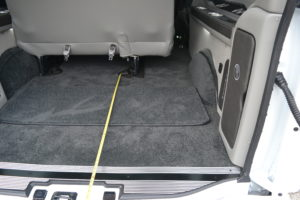 Plenty of Cargo room for all of the Adventures Mike Castrucci 2020 Chevy Conversion Van Land