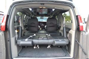 Explorer Van Rear bed