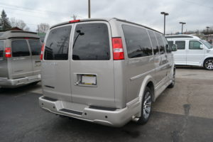 Explorer Van Conversion Van Land