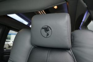 Explorer Van interior seating