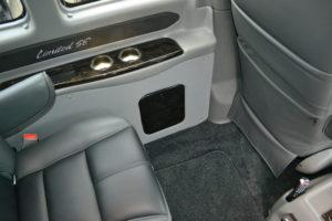 Explorer Van Interior Features