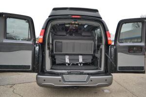 2019 Explorer Van Rear interior Pictures