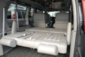 Explorer Van Rear Sofa Bed
