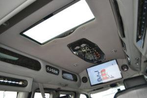 2014 AWD Explorer Van interior