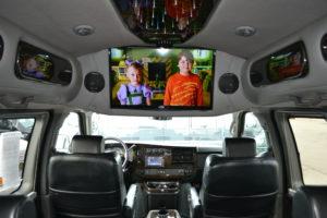2104 AWD Explorer Van interior