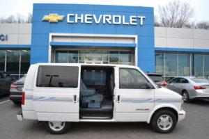 AWD 1999 Chevrolet Astro Conversion Van Land