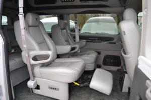 Power Recline Captain Chair Explorer Van