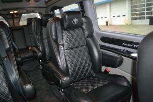 2020 Ford Transit Explorer Van Interior