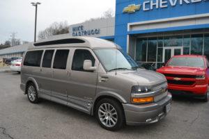 Mike Castrucci Chevrolet Conversion Van Land Explorer Van Company #1 Dealer 1GCWGAFG2K1260199