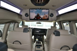 All of the Fun Entertainment options. Make the Travel as Fun as the Destination. Mike Castrucci Conversion Van Land