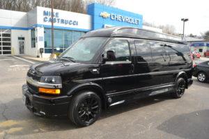 Black Explorer Van 9 Passenger