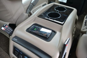 Wireless Charging Pad, Explorer Van options Explorer Van