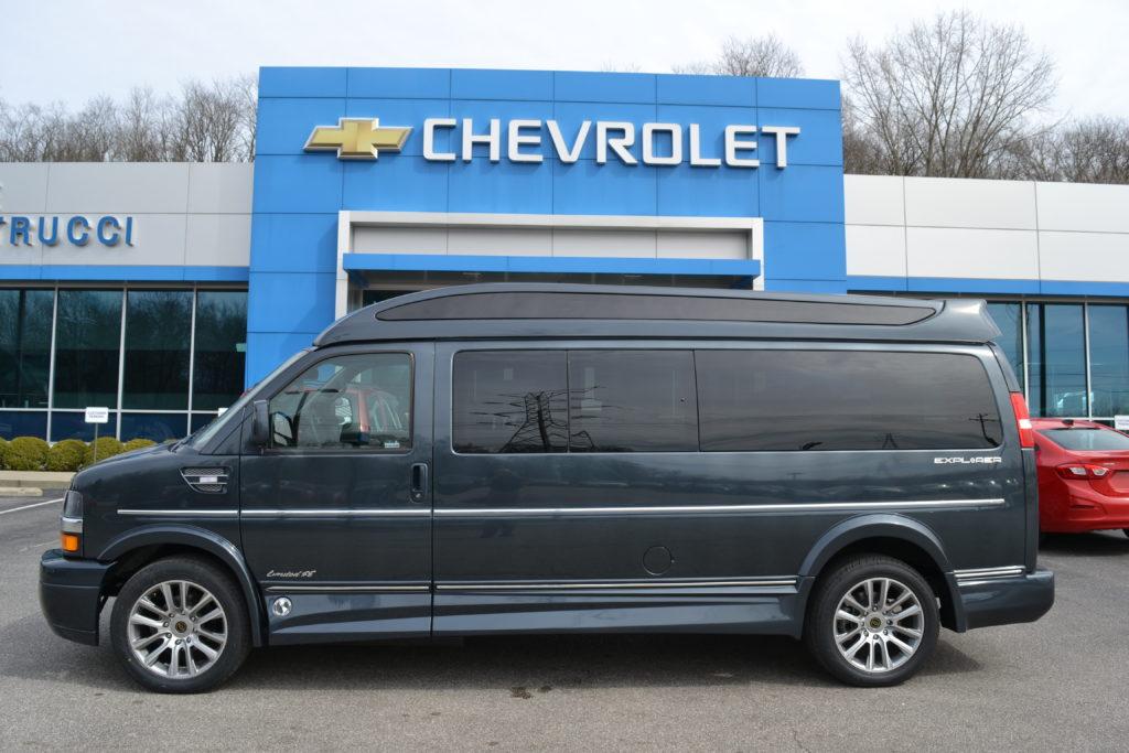 2020 Chevrolet Express 7 Passenger Extended, Explorer Limited X-SE VC Mike Castrucci Chevrolet, Conversion Van Land