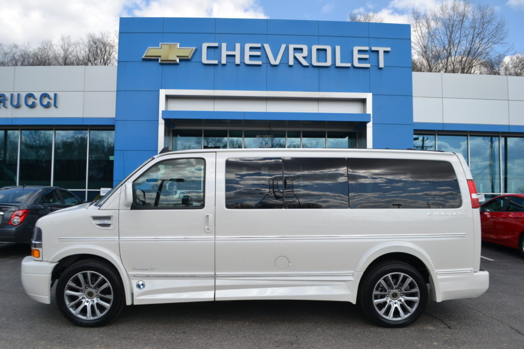 2019 Explorer Limited X-SE Pearl White Mike Castrucci Conversion Van Land
