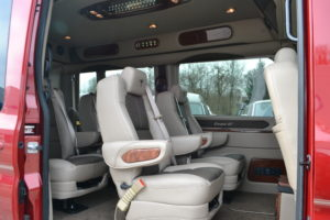 Legendary Comfort Explorer Van Company Enjoy the Ride.