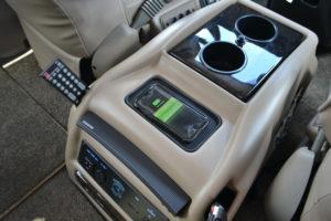 Explorer Van options Wireless Charging pad