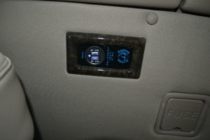 Explorer Van options USB Charging Ports
