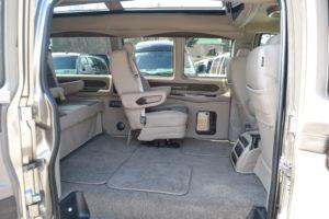 Explorer Van Options Seats