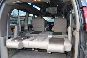 Explorer Van Options Rear Bed