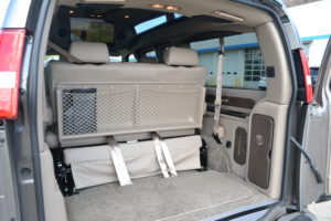 Plenty of Cargo room for all of the Adventures Mike Castrucci Chevy Conversion Van Land