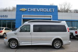 2020 Chevrolet Express Explorer Limited X-SE Explorer Conversion Van Mike Castrucci Chevrolet Conversion Van Land 1GCWGAFG5L1151446