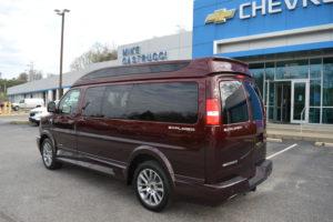 2020 Chevrolet GMC Van Exterior Conversion Van Land