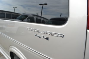 4X4 9 Passenger Explorer Conversion Van