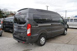 2020 AWD Ford Transit 9 Passenger Explorer Van Company Conversion Van land 1FTTEZYG3LKA54838
