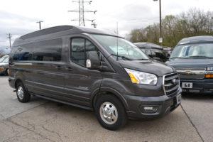 2020 AWD Ford Transit 9 Passenger Explorer Van Company Conversion Van land