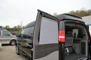 Shades on all Rear Passenger Side Windows and Doors. Explorer Conversion Vans Mike Castrucci Chevrolet