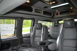 2019 Explorer Van Interior