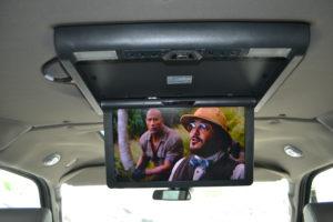 New Explorer Van Entertainment