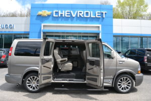 2020 Chevrolet Express Explorer Limited X-SE Explorer Conversion Van Mike Castrucci Chevrolet Conversion Van Land 1GCWGAFG8L1178611