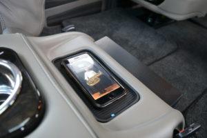 Cell Phone Charging pad 2020 Explorer Van Interior Options