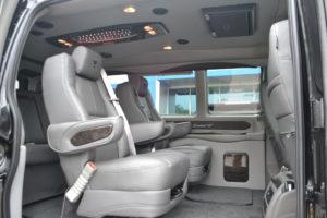 2019 Explorer Van Seating