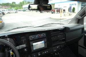 Back up Camera Image Appears in Rear View Mirror & In Navigation Screen when put in Reverse