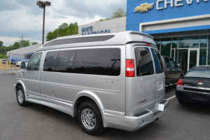 New AWD Explorer Van