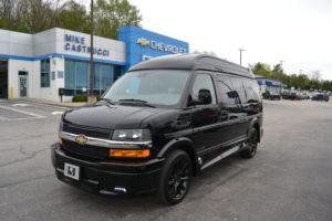 2020 Chevy Express 2500 - Explorer Limited X-SE VC 1GCWGAFG5L1241504 Mike Castrucci Conversion Van Land