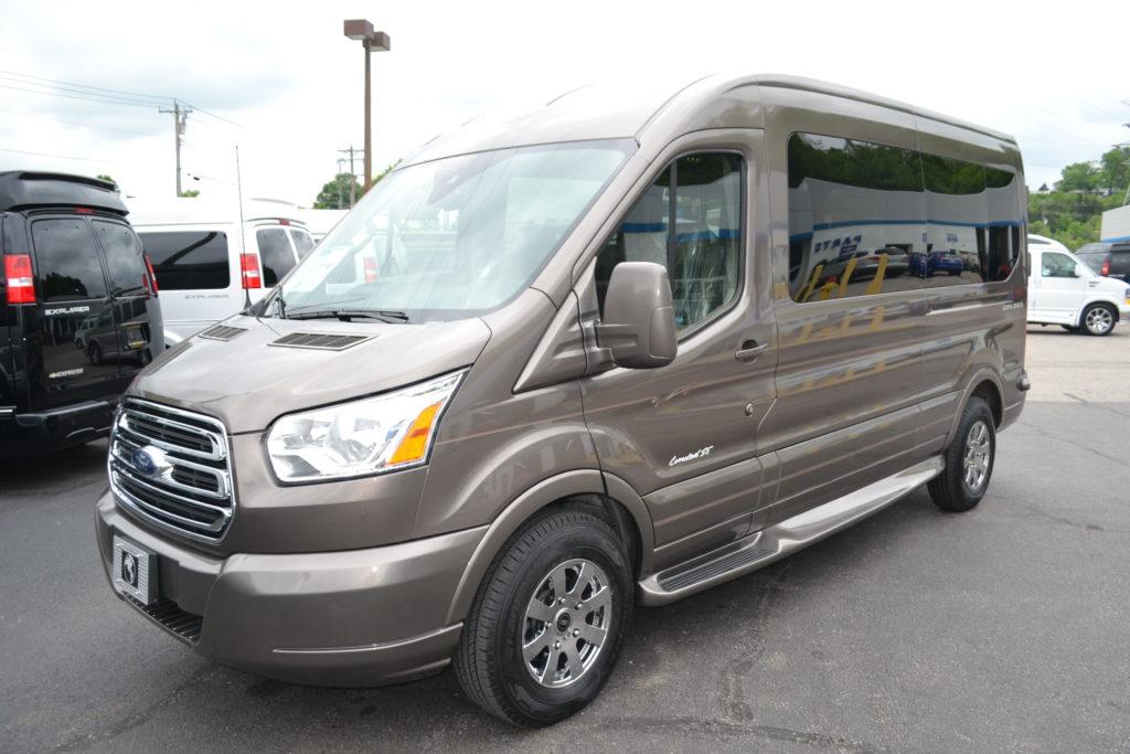 Mike Castrucci Ford >> 2018 Ford Transit 250 MR 9 Passenger - Explorer Limited SE ...