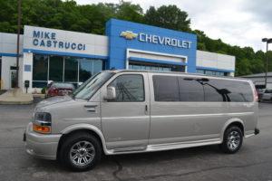 4X4 15 Passenger Explorer Conversion Van Mike Castrucci Chevrolet Conversion Van Land