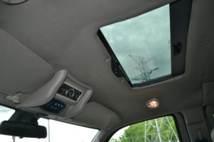 Power Sunroof with Auto Close & Sunshade, Explorer Van Interior