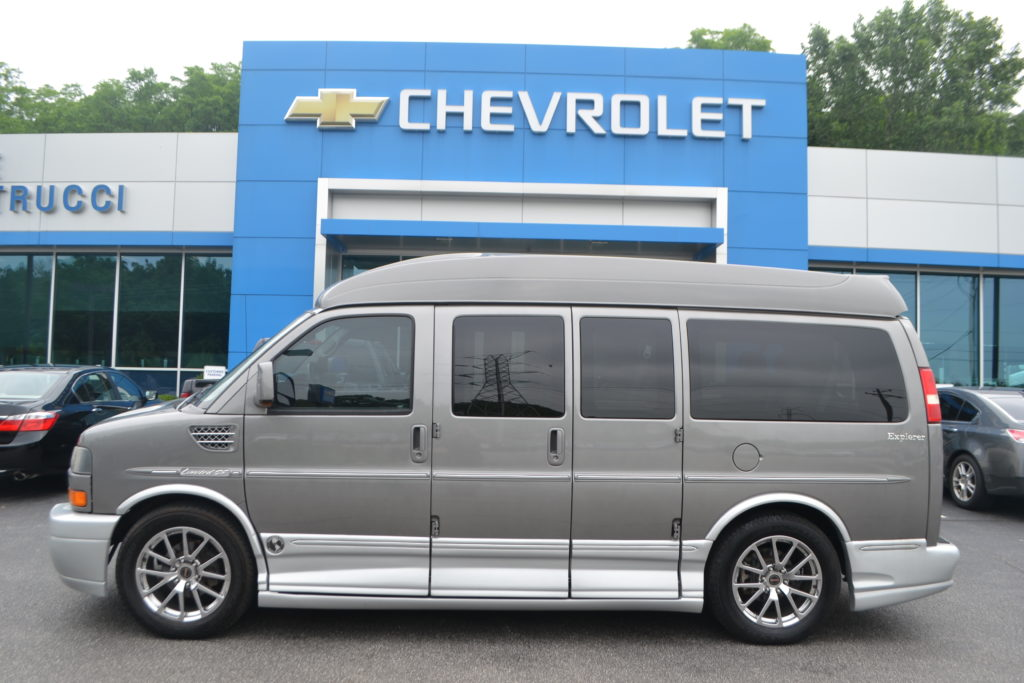 2012 GMC Savana Explorer Limited X-SE Graystone Metallic C1157548 Mike Castrucci Chevrolet Conversion Van Land